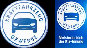 GSE Getriebeservice Reinhard Endl in Passau Innungszeichen blau